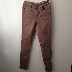 Hugh waisted skinny jeans